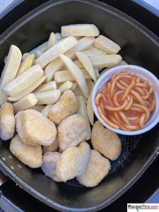 Air Fryer Chicken Nuggets & Fries