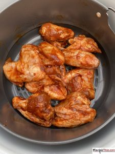 Can You Air Fry Frozen Chicken Wings? Let's start with the question I always get asked when I talk about frozen chicken wings and that is, is it safe and can you even do it? Yes, it is perfectly safe. It wouldn't be safe to do in the Ninja Foodi using the slow cooker function because it doesn't get hot enough, but either the air fryer or the pressure cooker will do an amazing job.