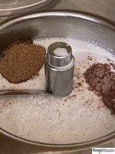 Making Ice Cream With Coconut Milk