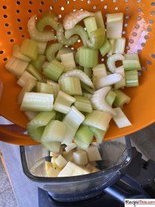 How To Make Celery Soup?
