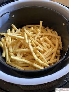 Frozen French Fries In Ninja Foodi
