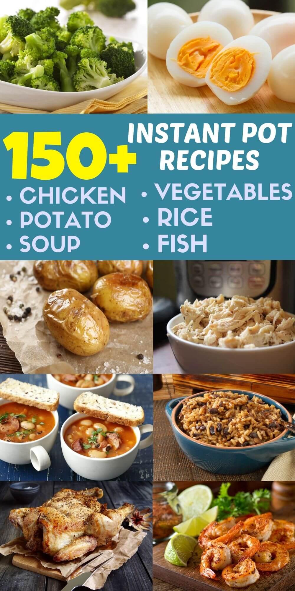 150 plus instant pot recipes