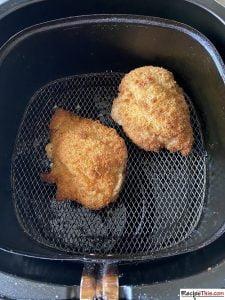 How Long Do I Cook Frozen Chicken Kiev In The Air Fryer?
