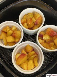 How To Make Peach Cobbler In Air Fryer?