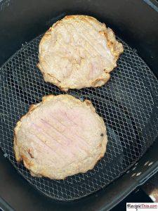 How To Cook Frozen Turkey Burgers In Air Fryer?