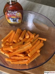 How To Air Fry Carrot Chips?