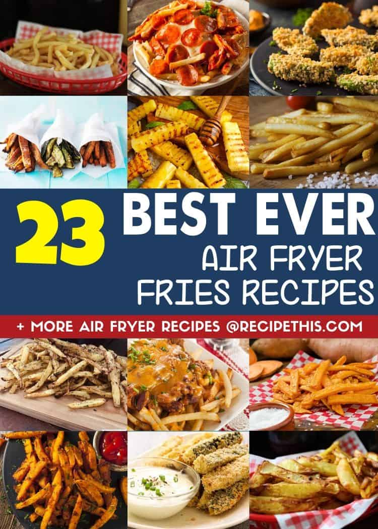 23 best ever air fryer fries recipes at recipethis.com