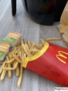 Can You Reheat McDonalds Fries In An Air Fryer?