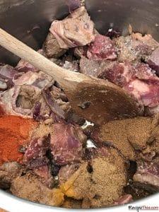 How To Make Instant Pot Lamb Bhuna