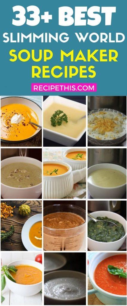 Slimming World Soup Maker Recipes