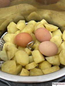 How To Make Instant Pot Potato Salad?