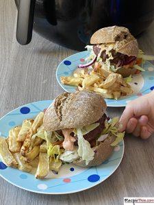Slimming World Burger & Chips