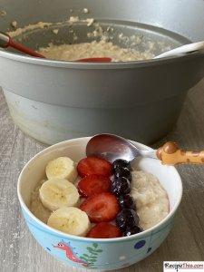 How Do You Make Porridge?