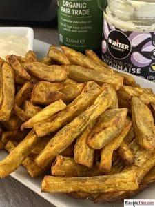 How To Cook Sweet Potato Fries In Ninja Foodi?