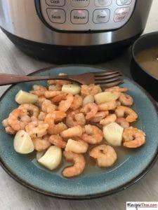 How To Instant Pot Frozen Shrimp?