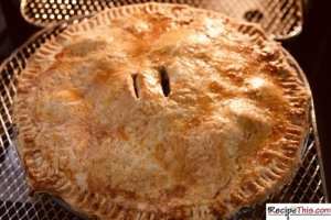 How To Cook Apple Pie Using Air Fryer?