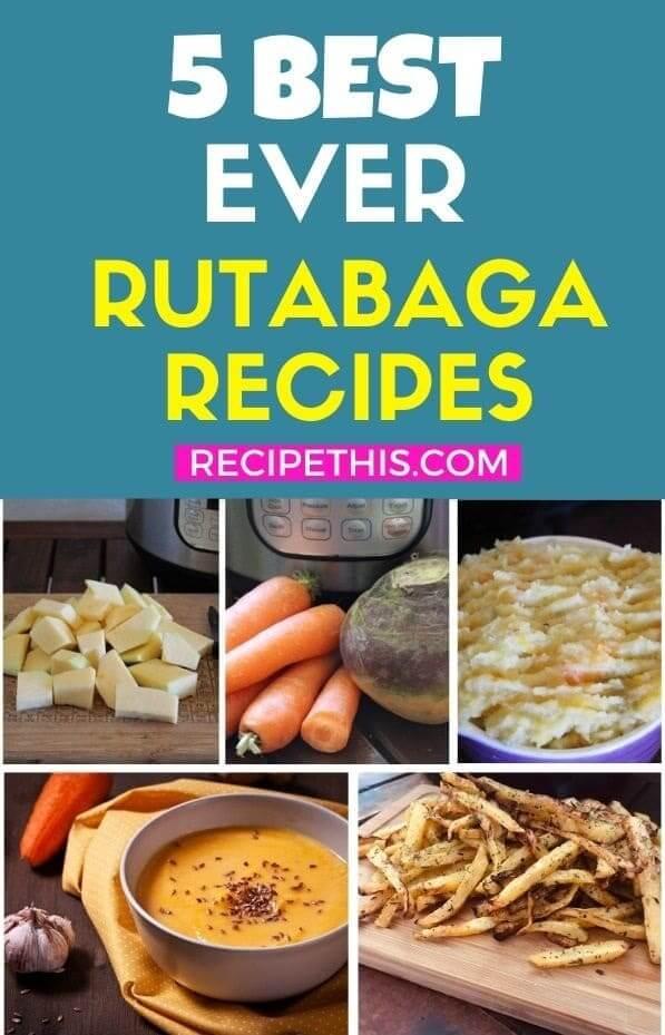 5 Best Rutabaga Recipes at recipethis.com