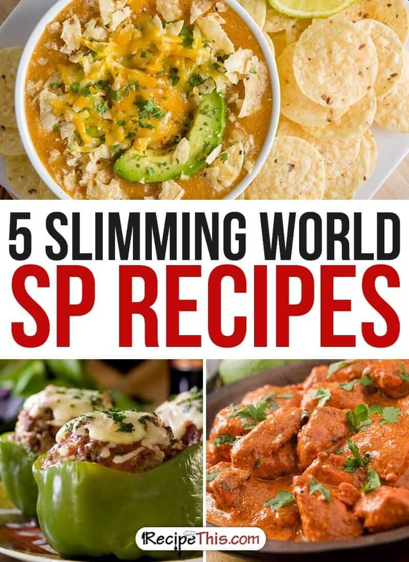 Slimming World | The best Slimming World SP Recipes brought to you by RecipeThis.com