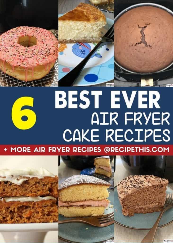 6 best ever cake recipes at recipethis.com