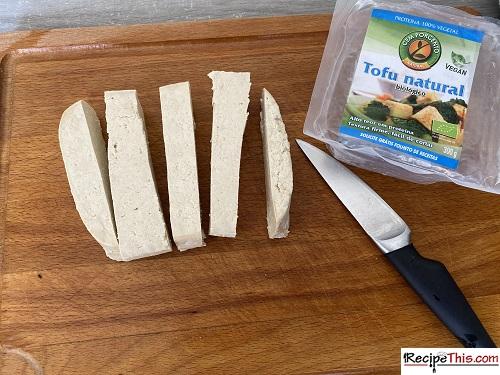 Air Fried Tofu Recipe