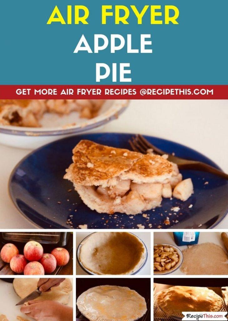 Air Fryer Apple Pie step by step