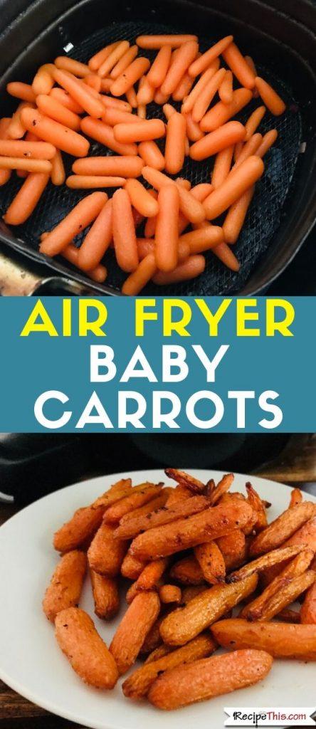 Air Fryer Baby Carrots recipe