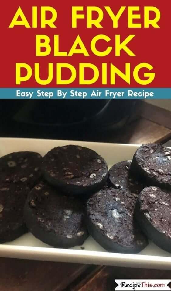 Recipe This | Air Fryer Black Pudding