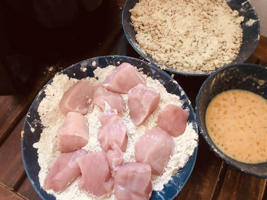 Air Fryer Breaded Chicken Ingredients