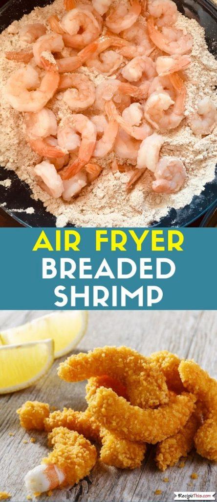 Air Fryer Breaded Shrimp Recipe