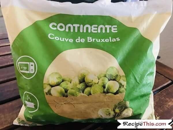 Air Fryer Brussel Sprouts Ingredients