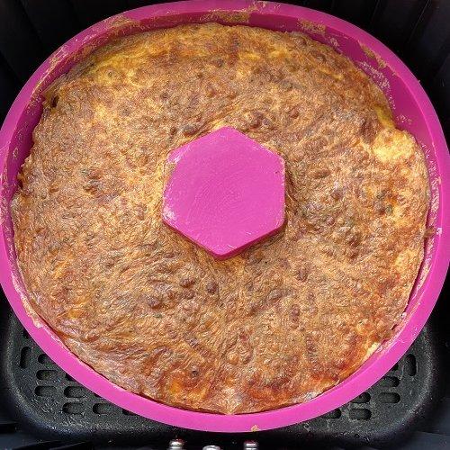 Air Fryer Bundt Cake Breakfast Casserole