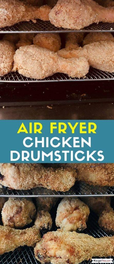 Air Fryer Chicken Drumsticks recipe
