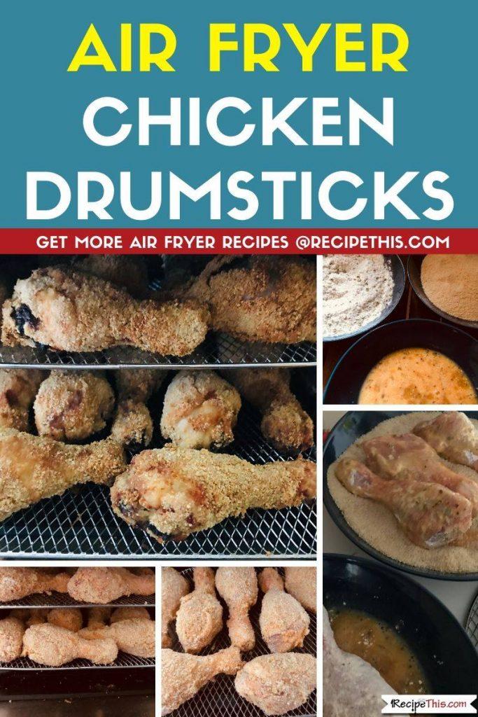 Air Fryer Chicken Drumsticks step by step