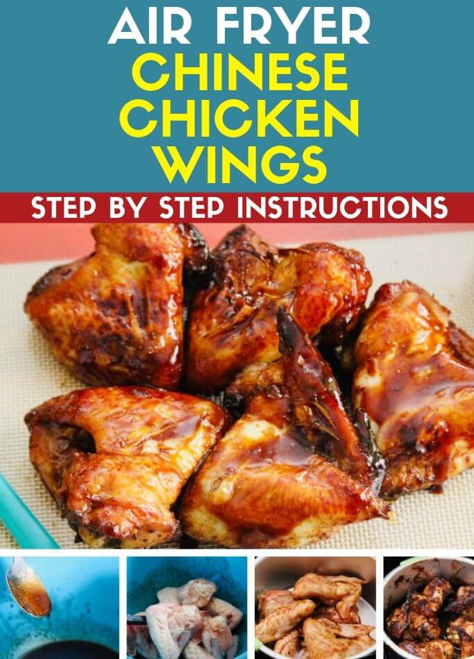 Air Fryer Chinese Chicken Wings