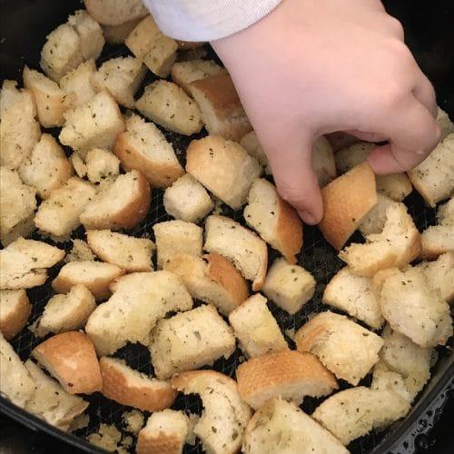 Air Fryer Croutons
