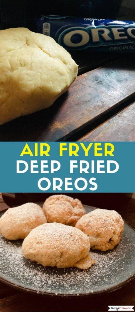 Air Fryer Deep Fried Oreos recipe