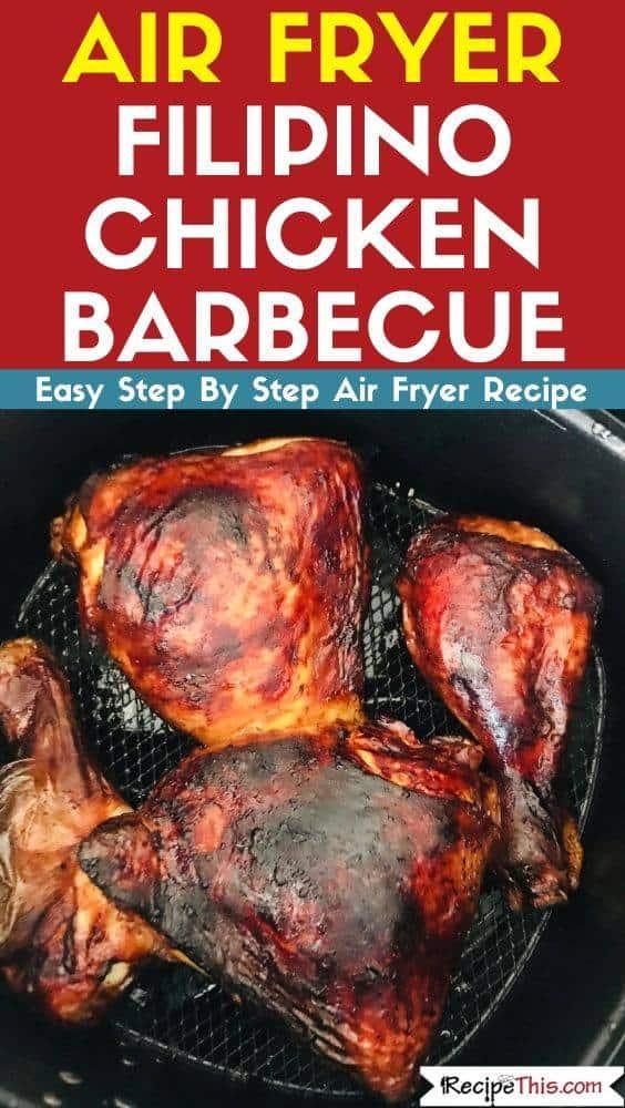 Air Fryer Filipino Chicken Barbecue