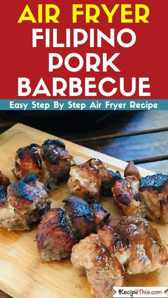 Air Fryer Filipino Pork Barbecue