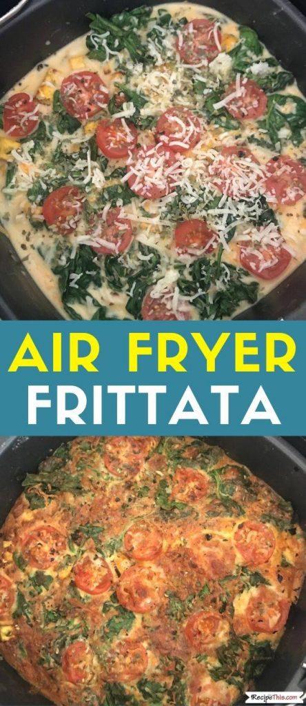 Air Fryer Frittata recipe