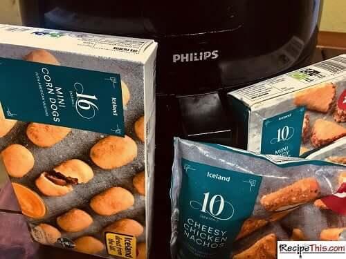 Air Fryer Frozen Appetizers