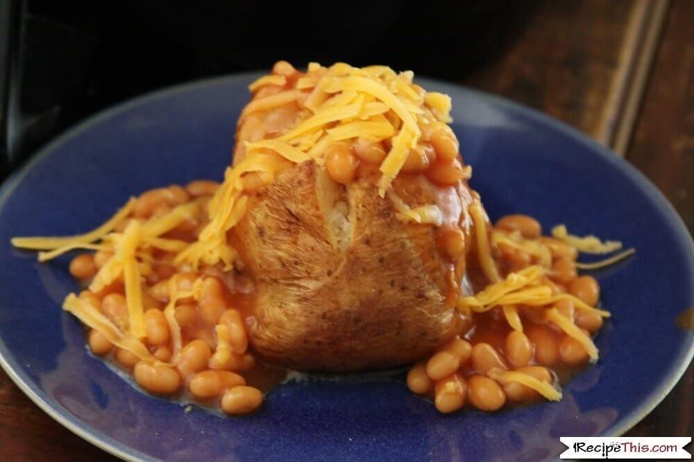 Air Fryer Frozen Baked Potato