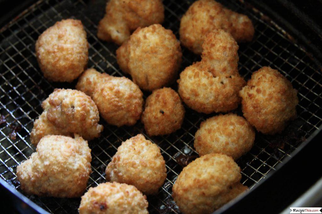 Air Fryer Frozen Breaded Mushrooms