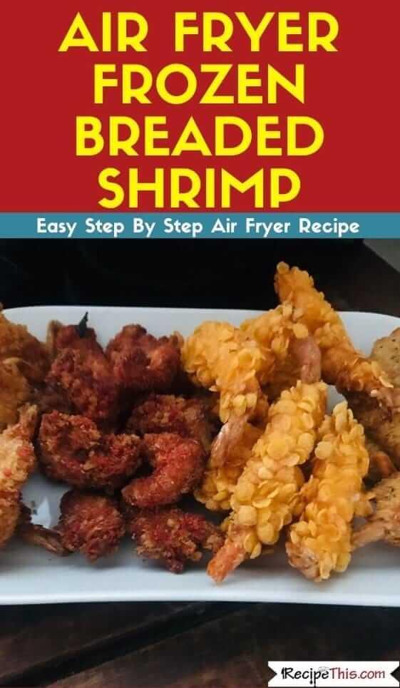 Air Fryer Frozen Breaded Shrimp Ideas