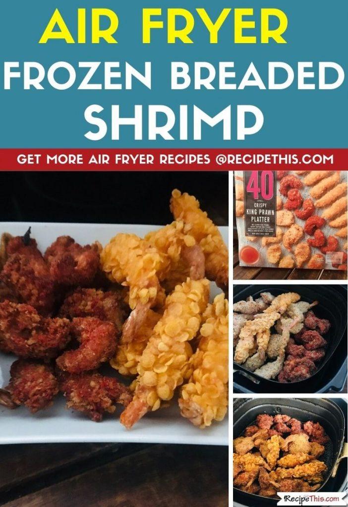 Air Fryer Frozen Breaded Shrimp step by step