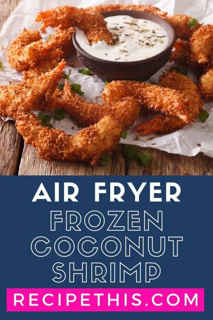 Air Fryer Frozen Coconut Shrimp at recipethis.com