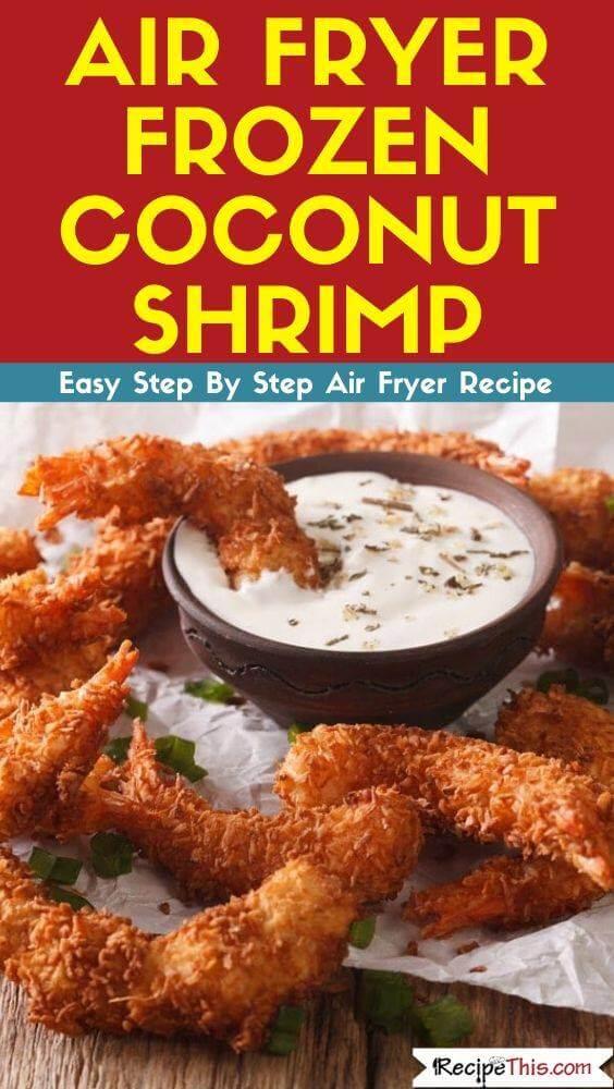Air Fryer Frozen Coconut Shrimp