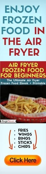 Air Fryer Frozen Food For Beginners