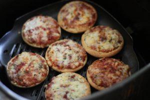 Air Fryer Frozen Mini Pizza
