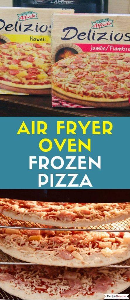 Air Fryer Frozen Pizza recipe