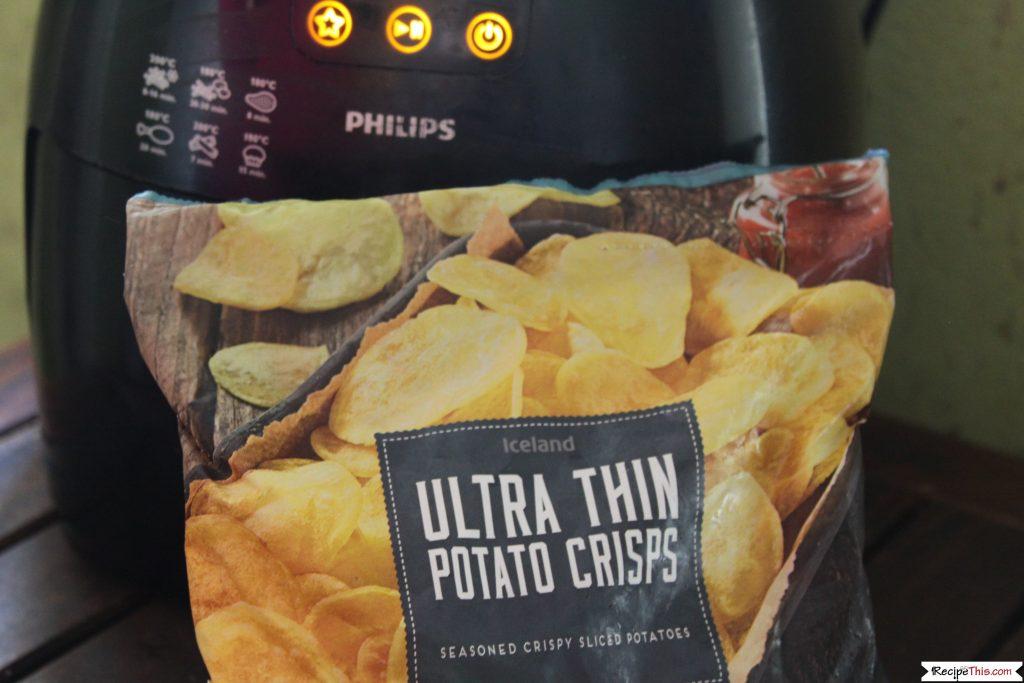 Air Fryer Frozen Potato Chips